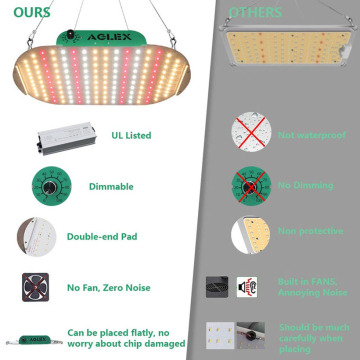 LED regulable simple 1000w Grow Light para plantar