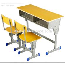 Luoyang steelart Schulmöbel Kids Studie Tisch und Stuhl Set Möbel zu verkaufen