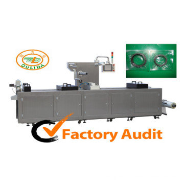 Dlz-520 Full Automatic Continuous Stretch Electric Component Vacuum Packing Machine