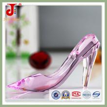 Chaussures en cristal rose pour les cadeaux de mariage (JD-CG-100)
