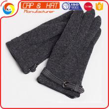 2015 Отказ от ответственности Logo Magic Unisex Winter Knit Stretch Перчатки с сенсорным экраном, сенсорные перчатки экрана ---- Вверх