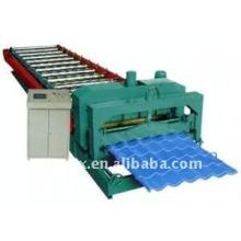 rollo de azulejo esmaltado color cnc que forma la máquina
