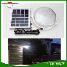 Разделенный Тип Солнечный 9 LED стена света Открытый садовое освещение для крытого коридора Стрехи напольное солнечное Потолочный светильник крытый лампы