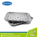 Plateaux en aluminium de papier d'aluminium de barbecue de catégorie comestible