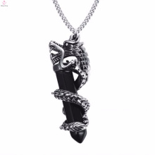 Fashion Silver Dragon Design 316L Stainless Steel Pendant