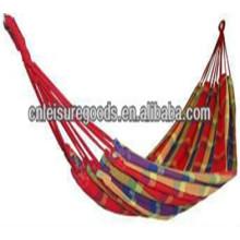 портативный открытый кемпинг популярен парашют полосатый гамак