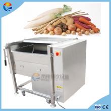 Laveuse et éplucheuse de légumes de carotte de pomme de terre automatique commerciale commerciale d'igname