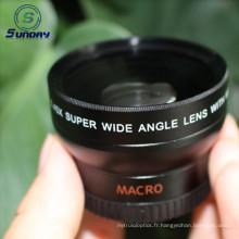 Lentille de la caméra macro grand angle 37mm UV46 0.45x