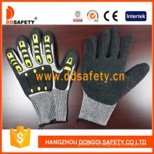 Порезостойкие перчатки Пэвд оболочки с черный Латекс -TPR120
