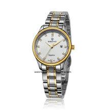 2016 Дешевые нержавеющей стали кварцевые пары наручные часы