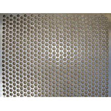 Galvanized Round Hole Perforated Metal Mesh