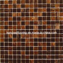 Glass Mosaic Tile Goldline Mosaic (HGM202)