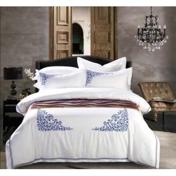 100% egyption cotton 300tc bedding sets, elegant flower designs printed bed sheet sets,small MOQ