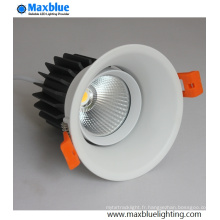 9W lampe de plafond LED Downlight