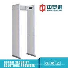 Prisiones que comprueban el detector de metales portátil del control remoto de la APP
