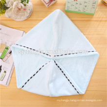 wholesale 25*65cm,300gsm Hair Drying Towel with Buttons