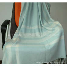 100 % tricot Cashmere Throw (Cmt-0901078)