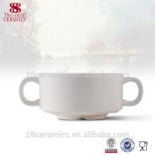 microwave soup bowl with handle , bone china tureen