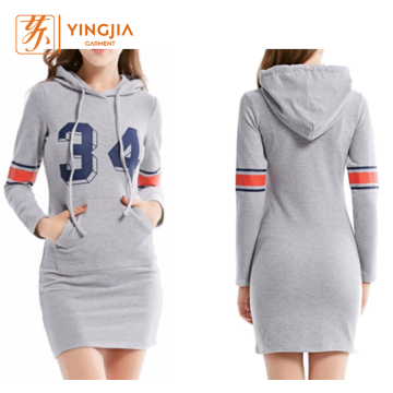 Hot Sale Wanita Slim Casual Long Pullover Hoodies