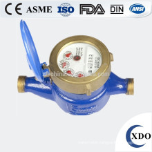 Multi-jet vane wheel dry dial cold (hot) water meter