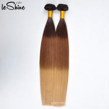 Trama peruana de alta calidad del pelo humano del color de Ombre del nuevo vendedor de la llegada nueva