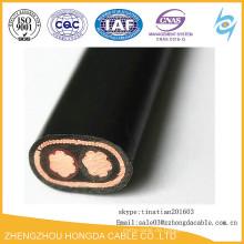 PVC-Isoliertes Leiter-konzentrisches Kabel AL / CU 3x6