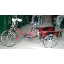 "Economic 24"" Three Wheel Luggage Tricycle (FP-TRCY032)"