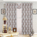 Custom made european style jacquard curtain fabric in china