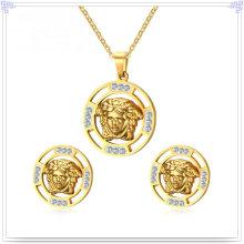 Joyas de acero inoxidable joyería accesorios de moda conjunto (js0261)