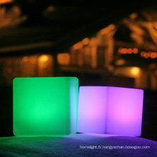 boîte de nuit 3d couleur led cube
