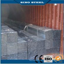 Ss400 Q235 оцинкованная квадратная стальная труба