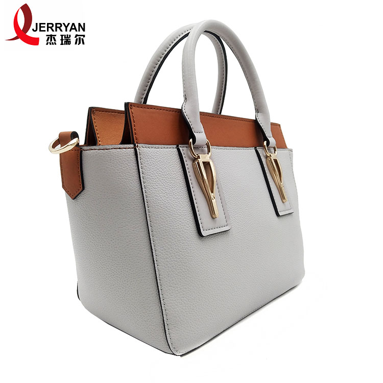 white genuine leather handbags