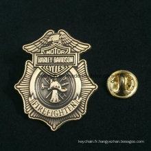 Badges faits sur commande de maréchal, insigne en étoile de Sheriff en métal de haute qualité