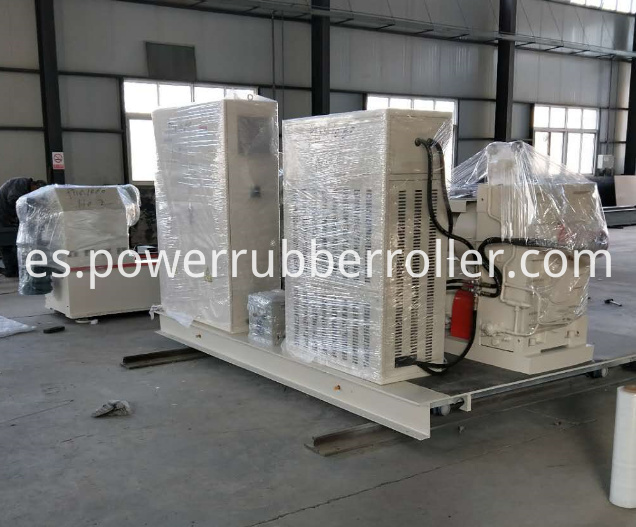 Silicone Rubber Roller Rewinder Rubber Machine