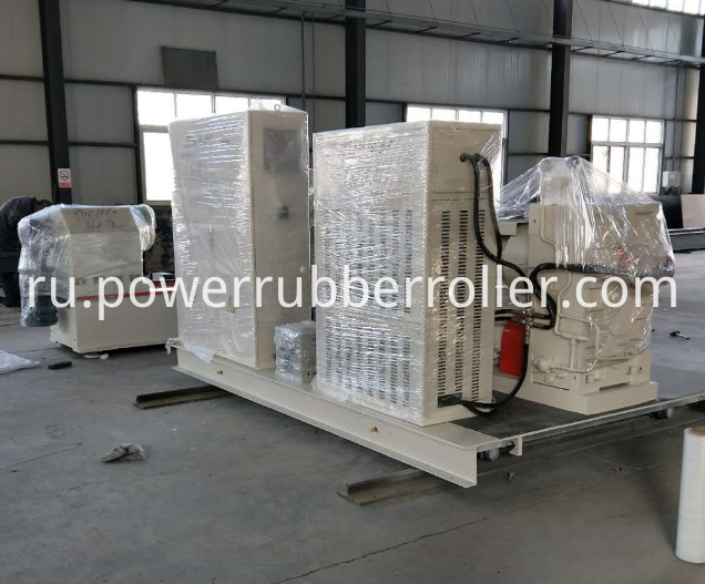 Custom Rubber Roller Grooving Machine