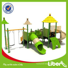 Straw House Series Preschool Playground Equipment LE-DC005