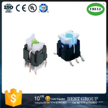6*6mm Straight Pin Switch with Light Touch Switch (FBELE)