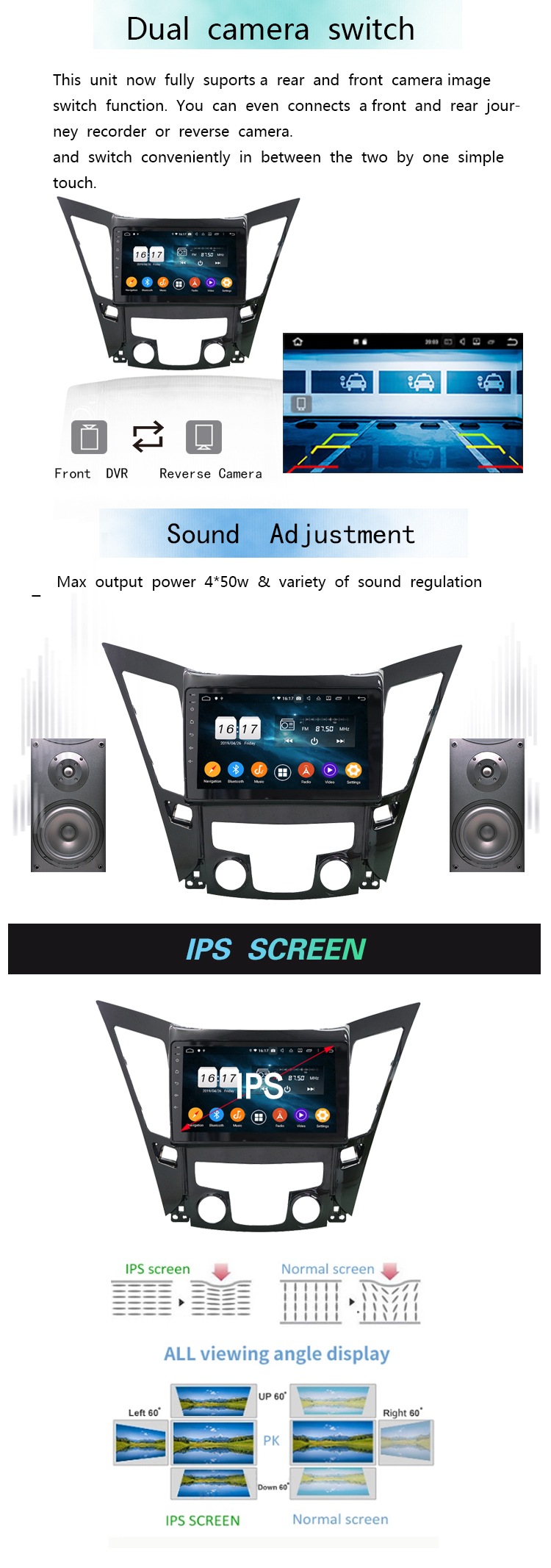 Sonata 2013 audio car radio