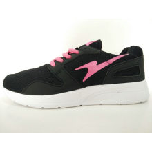 Women Black Mesh Breathable Casual Shoes