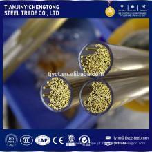 Tubo de latão liga C27200