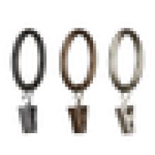 black decorative metal shower curtain rings,50/60mm metal curtain ring,metal curtain ring eyelet