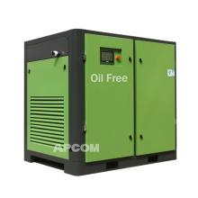 Water Lubrication Oil Free Screw 22kw Food Air Compressor Oilless Screw Air Compressor Medical Oil Free Air Compressor 30Hp