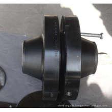 Bride de col de soudage en acier allié en acier inoxydable