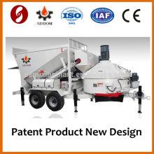 MB1800 móvel portátil fábrica de betão para venda 20-25m3 / h Taian Shandong China
