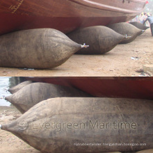 ISO14409 Certified Inflatable Marine Rubber Airbag for Ship Launching, Dry Docking