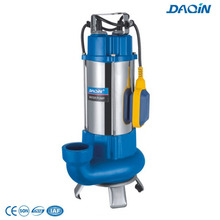 Steel Stainless Sewage Submersible Pumps with Float Switch