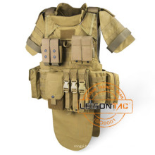 Military Bulletproof Vest, Lightweight Stab Proof Vest with Quick Release System for Self-defense Security Guard Military
