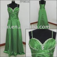 PP0034 зеленый 2010 производство сексуальное вечернее платье
