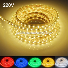 Waterproof IP67 AC 220V LED Light Strip 60leds/m 5050SMD LED Strip Light With Power Plug LED Lights