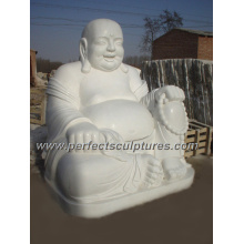 Antique Stone Marble Buddha for Feng Shui Statue Sculpture (SY-T028)